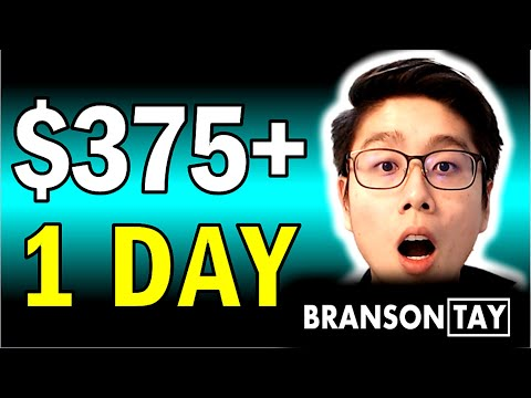 Earn $375+ a DAY Online Copy and PASTING Links! (Make Money Online)