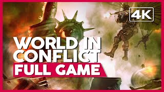 World In Conflict | Full Gameplay/Playthrough | No Commentary [PC] (60FPS)