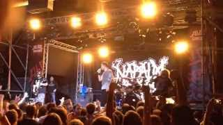 Napalm Death - I Abstain. Volta. Moscow. 08.10.2015