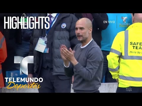 Highlights Manchester City 7-2 Stoke City