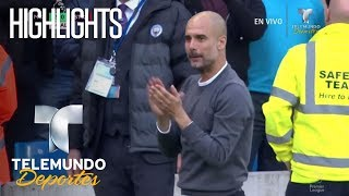 Highlights : Manchester City 7-2 Stoke City | Premier League | Telemundo Deportes