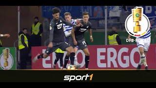 Grillitsch erlöst die TSG: Duisburg - Hoffenheim 0:2 | Highlights | DFB-Pokal 2019 | SPORT1
