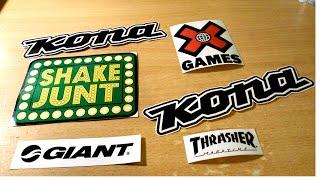 Как сделать наклейки / How to Make Stickers(Всем привет! И в этом видео я показываю как сделать НАКЛЕЙКИ в домашних условиях. Купить готовые наклейки..., 2014-12-07T20:57:13.000Z)