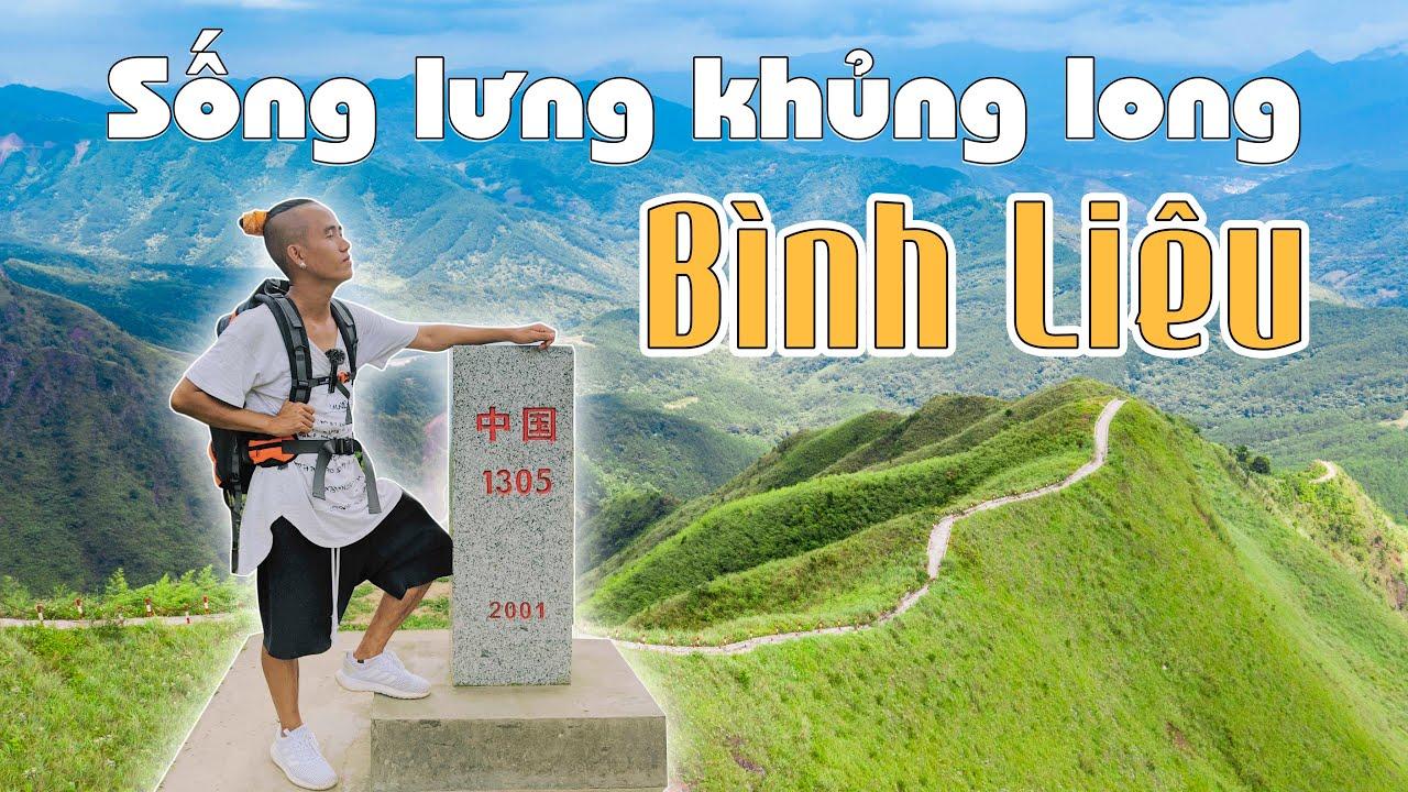 Cột mốc 1305 sống lưng khủng long Bình Liêu - Con đường tuần biên đẹp nhất Việt Nam