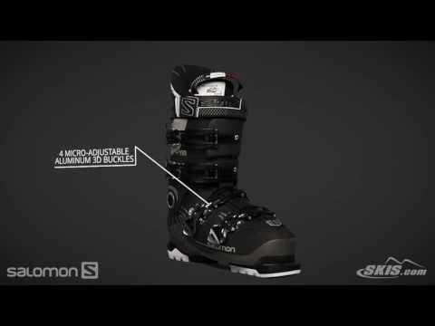 d793cd3e 2018 Salomon X Pro 100 Mens Boot Overview by SkisDotCom