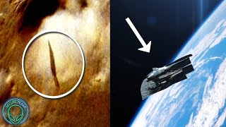 """SHADOW OF """"ALIEN SATELLITE"""" ON MARS?.."""