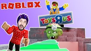 Roblox: ENTKOMME TOYS'R'US - ALIENS GREIFEN SPIELZEUGLADEN AN! Kaan caught in the new Obby