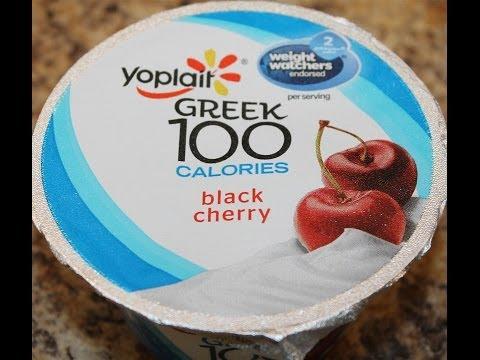 Yoplait 100 Calorie: Black Cherry Review