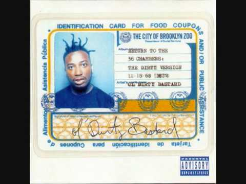 Ol' Dirty Bastard feat. Killah Priest & RZA & Masta Killa & Buddha Monk - Snakes