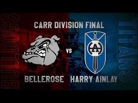 Bellerose Bulldogs vs. Harry Ainlay Titans - METRO ATHLETICS: CARR FINALS