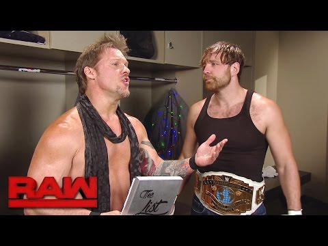 "Thumbnail: Dean Ambrose asks to be taken off ""The List of Jericho"": Raw, April 24, 2017"