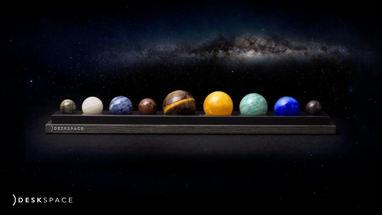 DeskSpace // Handcrafted Solar System video thumbnail