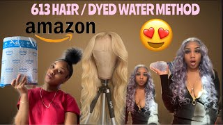 AMAZONS BEST AFFORDABLE 613 HUMAN HAIR WIG
