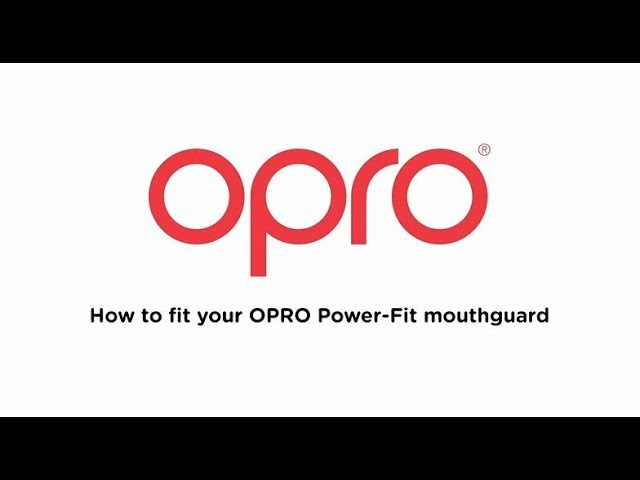 J/únior Protector bucal OPRO Pro Power-Fit