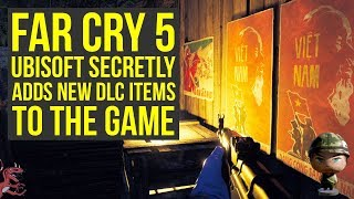 Far Cry 5 DLC - Ubisoft Secretly ADDS NEW DLC ITEMS With Latest Update & More (Far Cry 5 Vietnam DLC
