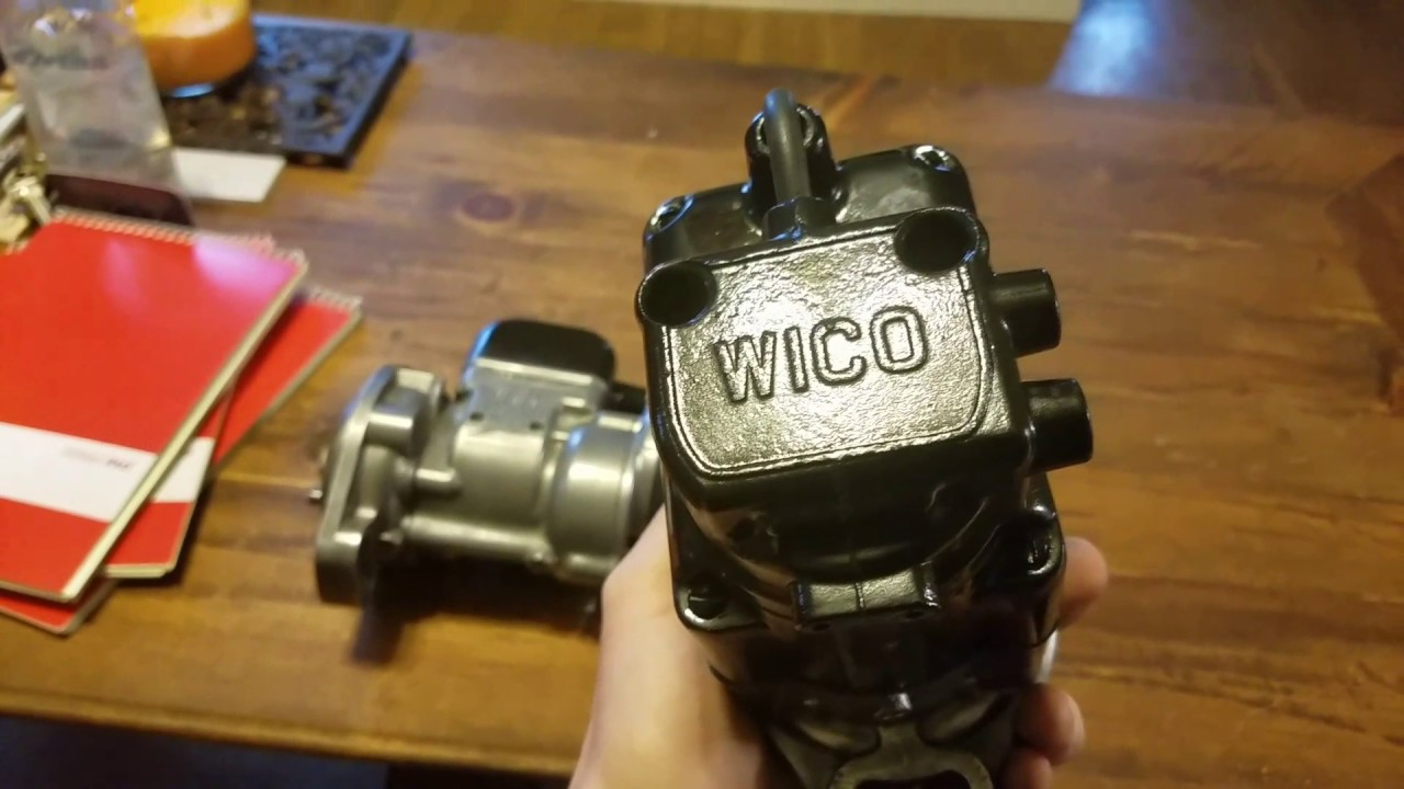 Wico C And Ih J4 Magneto Youtube Wiring Schematic