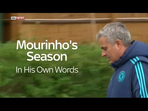 Jose Mourinho's Last Season As Chelsea Manager - In His Own Words