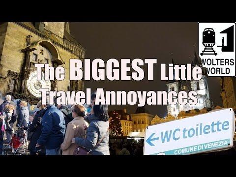 10 of The BIGGEST Little Travel Annoyances