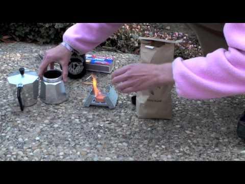 Bleuet Pocket Stove