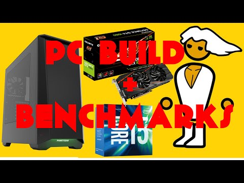 $1100 PC BUILD + BENCHMARKS! i5-6500  GTX 1060