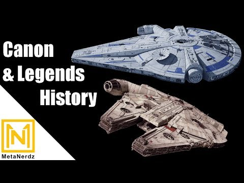 Canon AND Legends History - Millennium Falcon Lore Explained - Star Wars Lore