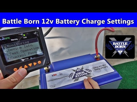 Battle Born 12v Battery Charge Settings for Maximum Performance