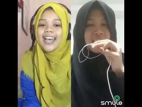 Duet Hijabers Suaranya Tinggi Banget !!! Smule Indonesia - Indal Fajri Kuntu Usholli