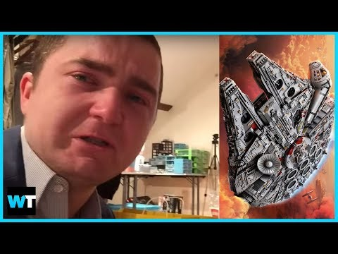 Internet Replaces YouTuber's STOLEN $18,000 LEGO COLLECTION!!