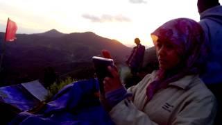 Bukit Jamur -Bengkayang (Panorama pagi)