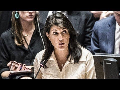 ABSURD: Nikki Haley Blames Hamas For Gaza Violence