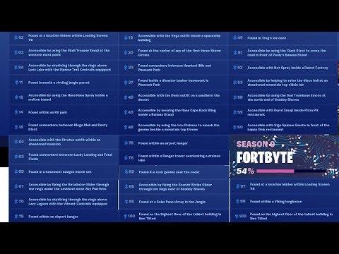Fortnite | Fortbytes # 02 03 04 11 12 14 18 19 20 30 37 40 43 48 49 51 52 53 58 59 60 62 63 65 67😊