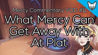 What Mercy Can Get Away With At Platinum | Mercy Commentary VODs #11