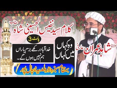 Molana Shahid Imran Arfi New Naat 2018 Sabza Zar Baldia Depalpur 3/3