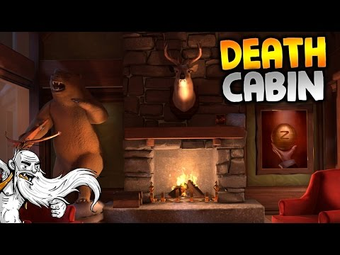 "I Expect You To Die Gameplay - ""WINTER BREAK...THE DEATH CABIN!!!"" HTC Vive Let's Play"