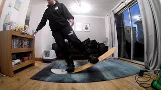 Salomon (Snowboards) HPS Flex Test 中井孝治 検索動画 20
