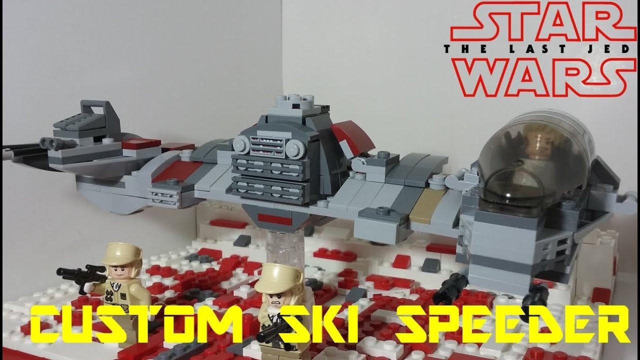 Bau- & Konstruktionsspielzeug-Sets Lego Custom Skiausrüstung