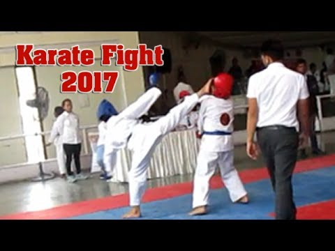 karate fight in india jatin blue corner won gold medal youtube