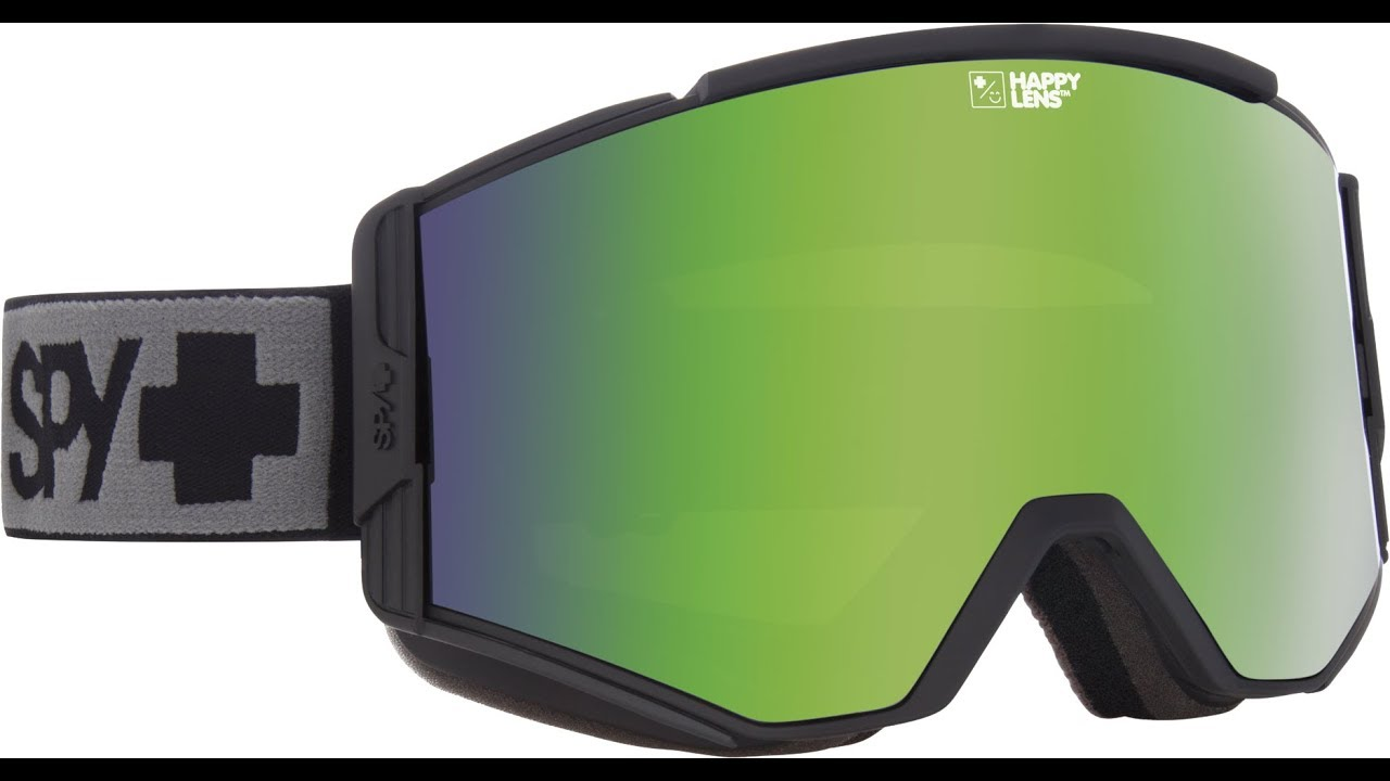 838a0475eb1 SPY Ace Snow Goggle Product Knowledge Video - YouTube