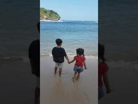 Kids at the beach just a wonderful time 🙂