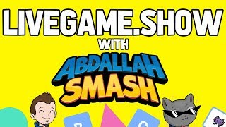 LIVEGAME.SHOW With Abdallah! FREE Online Multiplayer Mobile App! 2.13.19