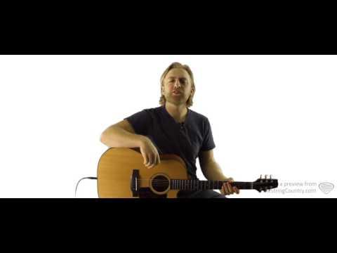 Parachute - Chris Stapleton - Guitar Lesson and Tutorial