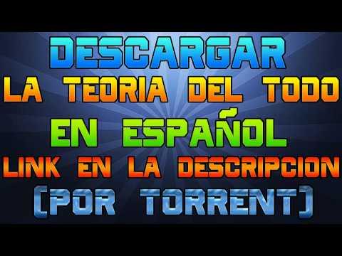 DESCARGAR LA TEORÍA DEL TODO| ESPAÑOL|TORRENT