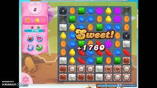 Candy Crush Level 1206 Audio Talkthrough, 3 Stars 0 Boosters