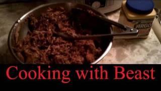 Cooking with Beast - Pulled Pork