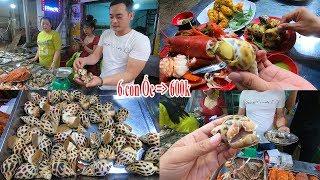 Lần đầu dám ăn thử Ốc hương khổng lồ 100k/con ở quán 54 Tân Sơn Nhì