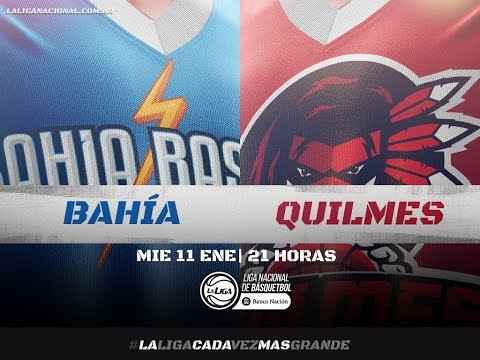 Liga Nacional: Bahía Basket vs. Quilmes   #LaLigaEnTyC