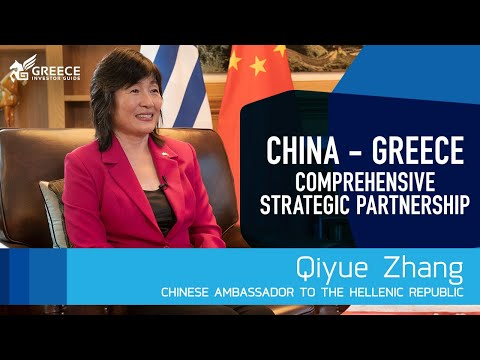 Qiyue Zhang, Chinese Ambassador to Greece - Greece Investor Guide (1)