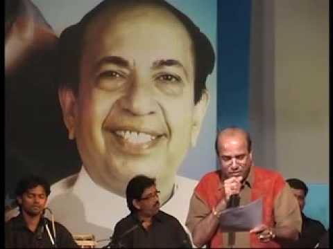 Remembering Mahendra Kapoor by Suresh Wadkar - HA KHEL SAWALYANCHA.mp4