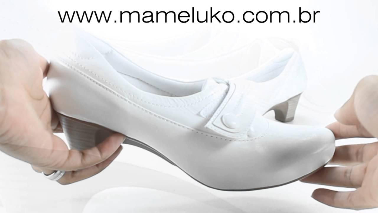 51091bf93 Sapato de Salto Neftali 4739 para Enfermagem Mameluko Calçados  Profissionais by Mameluko Calçados e Uniformes Profissionais