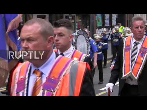 UK: Protestant Orange Order March Rerouted To Avoid Catholic Church